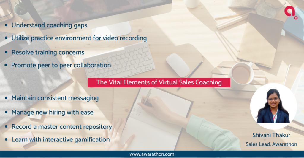 online virtual sales coaching